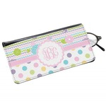 Girly Girl Genuine Leather Eyeglass Case (Personalized)