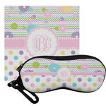 Girly Girl Eyeglass Case & Cloth (Personalized)