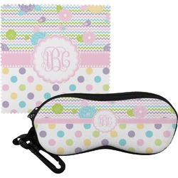 Girly Girl Eyeglass Case & Cloth (Personalized)