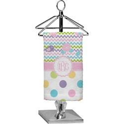 Girly Girl Finger Tip Towel - Full Print (Personalized)