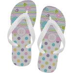 Girly Girl Flip Flops (Personalized)