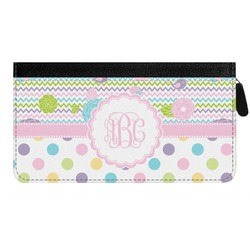 Girly Girl Genuine Leather Ladies Zippered Wallet (Personalized)