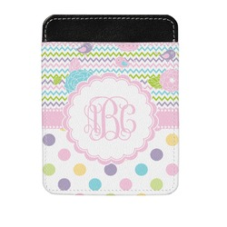 Girly Girl Genuine Leather Money Clip (Personalized)