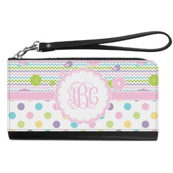 Girly Girl Genuine Leather Smartphone Wrist Wallet (Personalized)