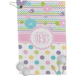 Girly Girl Golf Towel - Full Print (Personalized)