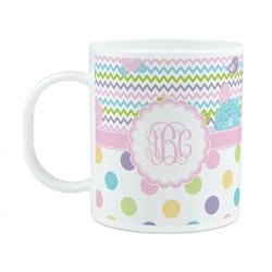 Girly Girl Plastic Kids Mug (Personalized)