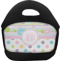 Girly Girl Toddler Lunch Tote (Personalized)