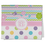 Girly Girl Kitchen Towel - Full Print (Personalized)