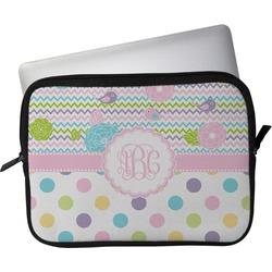 "Girly Girl Laptop Sleeve / Case - 15"" (Personalized)"