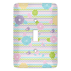 Girly Girl Light Switch Covers (Personalized)
