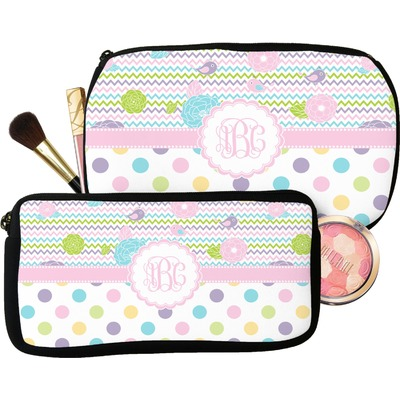 Girly Girl Makeup / Cosmetic Bag (Personalized)