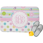 Girly Girl Memory Foam Bath Mat (Personalized)