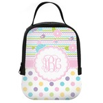 Girly Girl Neoprene Lunch Tote (Personalized)