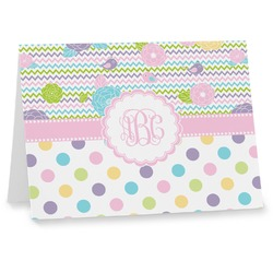 Girly Girl Note cards (Personalized)
