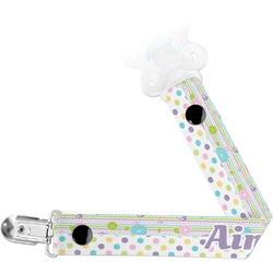 Girly Girl Pacifier Clips (Personalized)