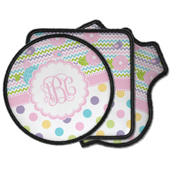 Girly Girl Iron on Patches (Personalized)