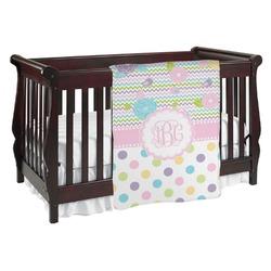 Girly Girl Baby Blanket (Personalized)