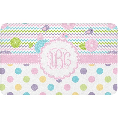 Girly girl bath mat personalized youcustomizeit for Girly bathroom accessories