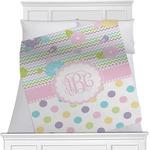 Girly Girl Minky Blanket (Personalized)