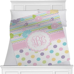 Girly Girl Minky Blanket (Personalized)