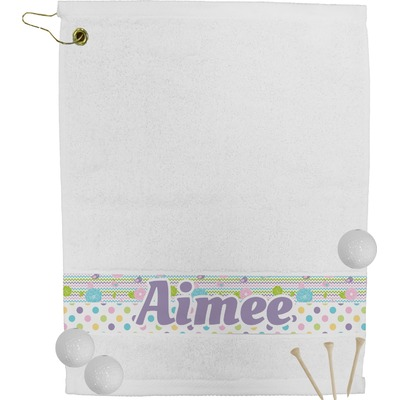 Girly Girl Golf Towel (Personalized)