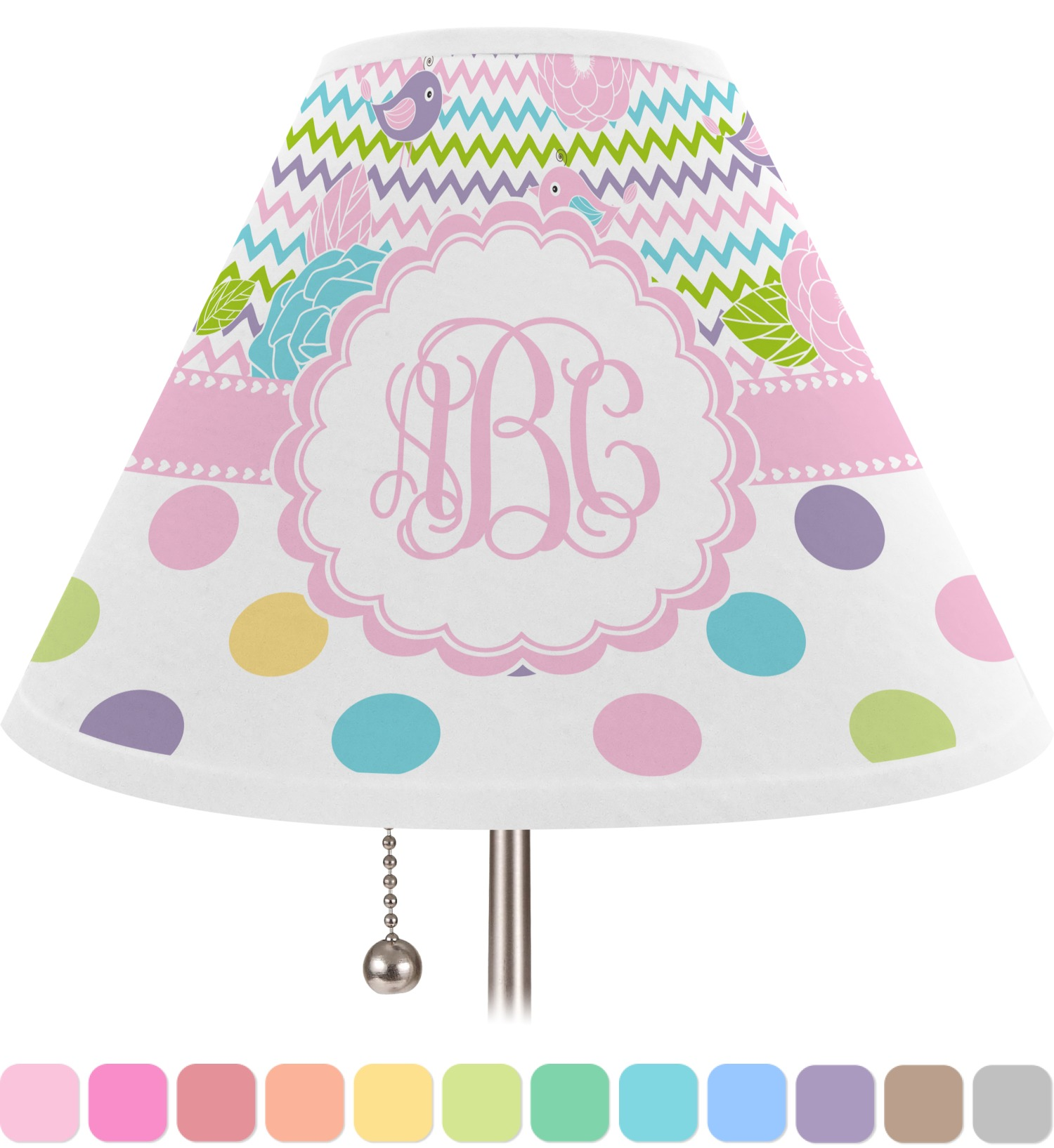 Girly Lamps For Bedroom: Medium (Personalized)
