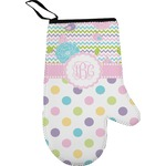 Girly Girl Right Oven Mitt (Personalized)
