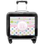 Girly Girl Pilot / Flight Suitcase (Personalized)