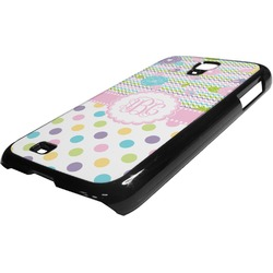 Girly Girl Plastic Samsung Galaxy 4 Phone Case (Personalized)