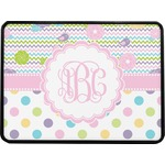 Girly Girl Rectangular Trailer Hitch Cover (Personalized)