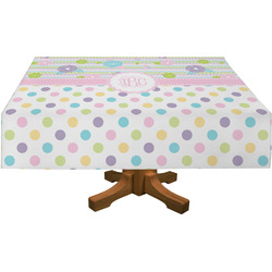 Girly Girl Rectangle Tablecloth (Personalized)