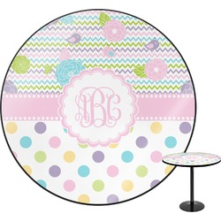 Girly Girl Round Table (Personalized)