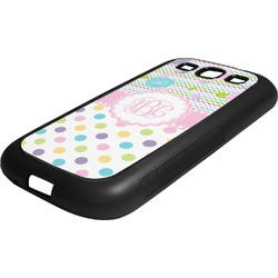 Girly Girl Rubber Samsung Galaxy 3 Phone Case (Personalized)