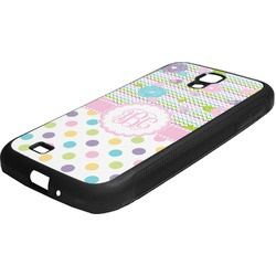Girly Girl Rubber Samsung Galaxy 4 Phone Case (Personalized)
