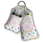 Girly Girl Hand Sanitizer & Keychain Holder (Personalized)
