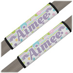 Girly Girl Seat Belt Covers (Set of 2) (Personalized)