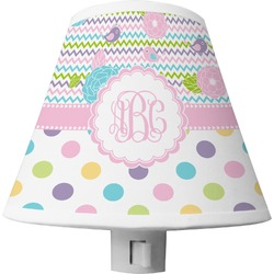 Girly Girl Shade Night Light (Personalized)