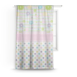 Girly Girl Sheer Curtains (Personalized)