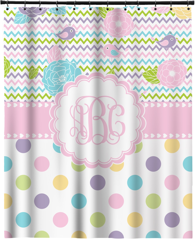 Girly Girl Shower Curtain 70x90