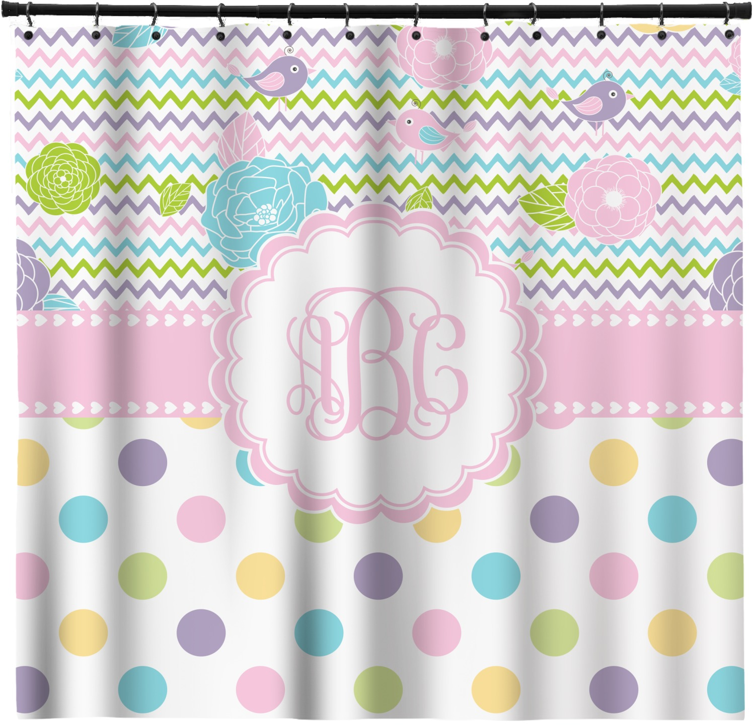 Girly Girl Shower Curtain