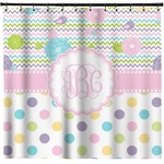 Girly Girl Shower Curtain (Personalized)