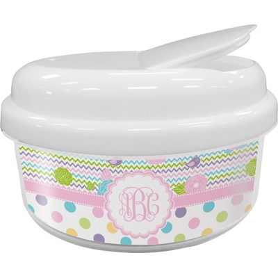 Girly Girl Snack Container (Personalized)
