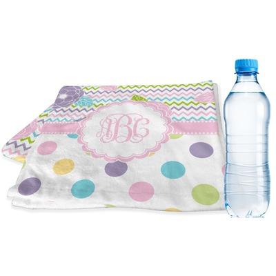 Girly Girl Sports & Fitness Towel (Personalized)