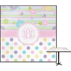 Girly Girl Square Table Top (Personalized)