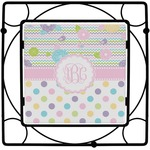 Girly Girl Square Trivet (Personalized)