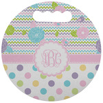 Girly Girl Stadium Cushion (Round) (Personalized)