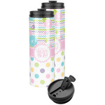 Girly Girl Stainless Steel Skinny Tumbler (Personalized)