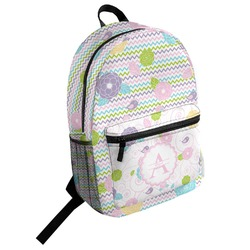 Girly Girl Student Backpack (Personalized)