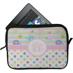 Girly Girl Tablet Case / Sleeve - Small (Personalized)