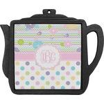 Girly Girl Teapot Trivet (Personalized)